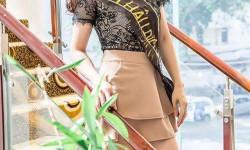 Á hậu điện ảnh Nani Phương Anh bất ngờ khỏe vẻ đẹp nhẹ nhàng, tinh khôi tại sự kiện