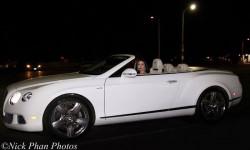 Hoa hậu Kristine Thảo Lâm sang chảnh với siêu xe Bentley đi gặp đối tác
