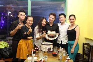 Cao Thiên Phước tràn ngập cảm xúc trong đêm sinh nhật.