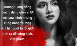 Hương Giang Idol bị miệt thị giới tính sau câu nói xúc phạm nghệ sĩ Trung Dân