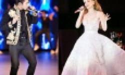 Hà Hồ cùng Sơn Tùng M-TP bùng nổ trên sân khấu 'Đêm hội chân dài'