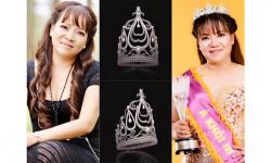 Á khôi Thanh Hương tài trợ chiếc vương miện trong cuộc thi Hoa Khôi Doanh Nhân Đất Việt 2017