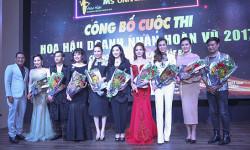Á khôi Thanh Hương quyền lực trong bộ váy dạ hội trong sự kiện công bố dàn giám khảo Hoa hậu doanh nhân hoàn vũ