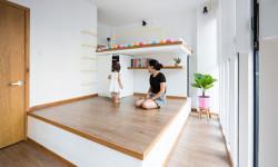 Bất ngờ thiết kế quá thông minh với căn nhà chỉ 18m² của vợ chồng Việt