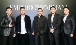 Sự kiện ra mắt cửa hàng đầu tiên của Emporio Armani tại Hà Nội