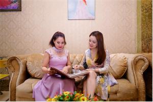 Á hậu Ruby Anh Phạm đẹp lên nhờ Spa Hoàng Cung