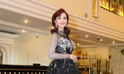 NTK Hoàng Hải góp phần tôn vinh sức hút quyến rũ Hoa hậu Diệu Hoa trong thiết kế của mình