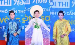Võ Khắc Phục, Top Model Thảo My và Á Vương Hà Nhựt Lê tự tin trên sân khấu HSSV Thanh Lịch TPCT 2018