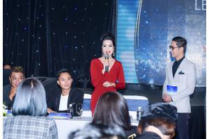 Á hậu Trịnh Kim Chi quyền lực và ấn tượng trên ghế giám khảo của Nữ Hoàng Sắc Đẹp Doanh Nhân