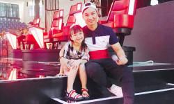 MC Thành Trung không định hướng con gái theo nghệ thuật