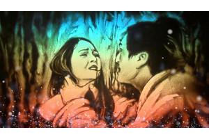 Nghệ nhân Lê Phong Giao kết hợp làm MV tranh cát cùng với ca sĩ Bảo Anh