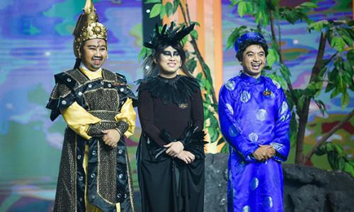 Hồ Minh Quang diễn hài hoạt hình chẳng thua gì sư phụ Minh Nhí