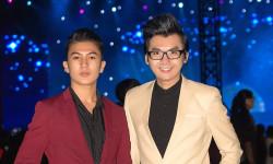 Người mẫu ảnh công ty IL Model Trần Phú hội ngộ với Á vương Ký Quốc Đạt trong sự kiện