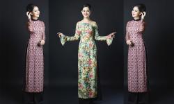 Á hậu Vân Anh duyên dáng trong hình ảnh áo dài cô Ba