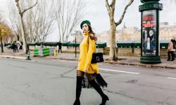 Hoa Hậu Lê Ngọc Diệp thể hiện gu thời trang trẻ trung và mới lạ trên đường phố Paris