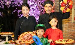 Pizza Hut ra mắt 2 sản phẩm bánh Pizza Hoa Xuân