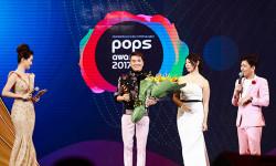 Khép lại 'Đại nhạc hội và Trao giảiPOPSAwards 2017' với vô vàn cảm xúc từ những giải thưởng