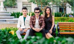Á vương Ký Quốc Đạt làm mới hình ảnh cùng với các Mr, Miss Nụ Cười Tỏa Sáng HSSV Thanh Lịch TPCT 2018