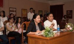 NTK Việt Hùng hướng dẫn bài tốt nghiệp cho SV ngành Thiết kế Thời trang