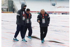 """Thường Châu tuyết tan, U23 Việt Nam vẫn sẵn """"kế hoạch B"""""""