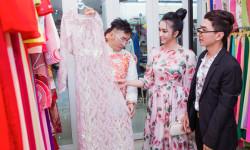 Á khôi Nguyễn Thùy Chi được stylist Ti Ak chăm chút trong sự kiện