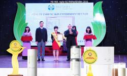 """Nu Skin Việt Nam vinh dự nhận giải thưởng """"Sản Phẩm Vàng Vì Sức Khỏe Cộng Đồng"""""""