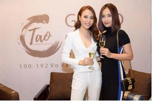 Kỳ Duyên, Ái Phương cùng nhiều sao Việt lộng lẫy đến chúc mừng Đàm Thu Trang khai trương nhà hàng Hoa