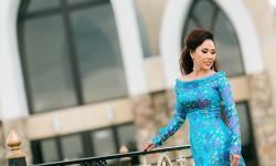 Hoa hậu nhân ái Vân Nguyễn duyên dáng trong tà áo dài Xuân
