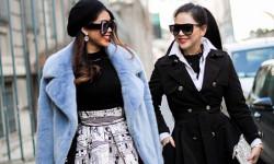 Phong cách thời trang ấn tượng, Thảo Tiên cùng mẹ sưởi ấm đường phố Châu Âu
