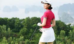 Á hoàng Golf Queen Hải Anh: chơi Golf giúp giảm cân hiệu quả & bớt căng thẳng trong cuộc sống