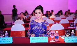 Hoa hậu Đền Hùng Giáng My ngồi 'ghế nóng' tại cuộc thi Hoa hậu Doanh Nhân Hoàn Vũ 2018