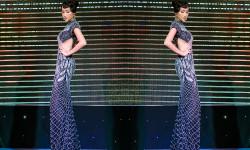Hoa khôi Huỳnh Thi nổi bật trong vai trò người mở màn sự kiện thời trang điện ảnh