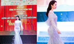 Á khôi Huỳnh Vy bất ngờ trở lại sàn diễn sexy đầy khiêu khích