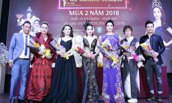 Á hậu Bảo Ngọc tự tin ngồi 'ghế nóng' chấm thi Hoa hậu Doanh nhân Hoàn vũ 2018 tại Nhật Bản