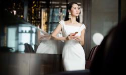 Ngất ngây trước vẻ đẹp quyến rũ và kiều diễm của Hoa hậu Dương Thùy Linh