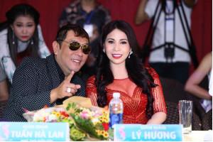 Lý Hương tự tin ngồi 'ghế nóng' cuộc thi Hoa hậu U30