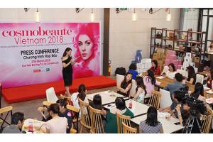 Nhiều hoạt động hấp dẫn diễn ra tại sự kiện Cosmobeauté Vietnam 2018