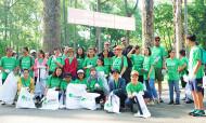 Hơn 15 tấn rác được thu gom trong chiến dịch 'Ngày Trái Đất 2018'