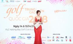 Á hoàng Golf Queen 2017 Nguyễn Hải Anh đẹp rạng ngời tại sự kiện