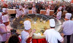 Nhiều hoạt động hấp dẫn tại sự kiện xác lập kỷ lục 'chảo cơm chiên lớn nhất Việt Nam' của Vedan