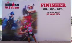 Rapper Đinh Tiến Đạt ghi dấu ấn tại cuộc đua Ironman 2018