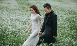 Vợ chồng Lâm Vũ vượt giá lạnh để chụp ảnh cưới