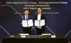 Tập đoàn SM Entertainment và Tập đoàn Imex Pan Pacific ký kết biên bản ghi nhớ hợp tác chiến lược