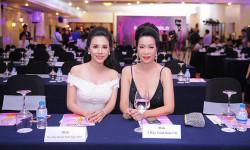 Hoa hậu Châu Ngọc Bích đẹp 'xuất thần', đọ sắc cùng Á hậu Việt Nam Trịnh Kim Chi