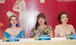 CEO Hồ Thanh Hương hội ngộ ca sĩ Nguyên Vũ và Hoa hậu Diễm Hương Ms Worls America  2018