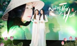Hoa hậu Phương Lê đẹp tinh khôi trong tà áo dài trắng