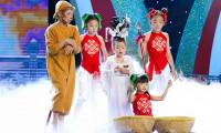 Hoàng Vân, Gia Bảo, Trung Tín đắt show hơn nhờ Tiếu Lâm Tứ Trụ Nhí
