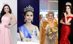 Châu Ngọc Bích, Kim Ngọc, Đỗ Thị Như Mai và Diệu Linh là những hoa hậu đăng quang trong 5 tháng qua