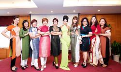 CLB New Fashion chọn áo dài cách tân của NTK Quỳnh Paris để thể hiện sự cá tính, phong cách