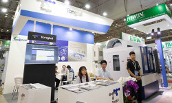 Đài Loan giới thiệu nhiều thế hệ máy thông minh tại triển lãm MTA 2018